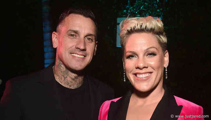 Pink Posts Sweet Birthday Tribute for Husband Carey Hart!