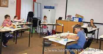 Kreativtag beim Kinderferienprogramm in Ottweiler - Saarbrücker Zeitung