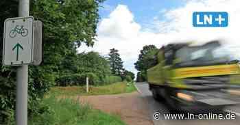 Fahrradweg zwischen Lensahn und Schönwalde wird endlich gebaut - Lübecker Nachrichten