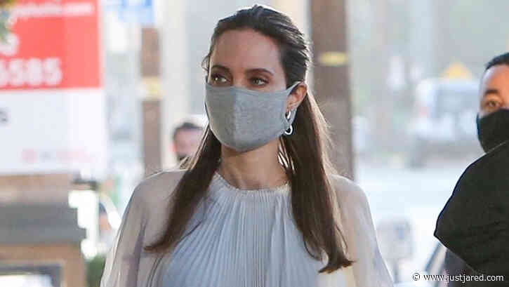 Angelina Jolie Has Been Wearing This $5 Face Mask - Get It Now!