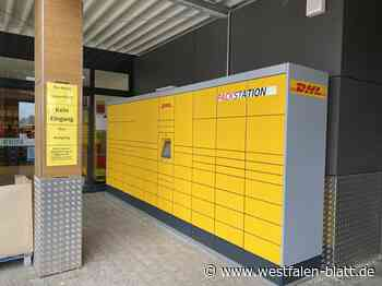 Neue Packstation am Rewe-Markt - Westfalen-Blatt