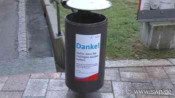 """Kontrollen in Eislingen: """"Müllsheriffs"""" im Einsatz - SWP"""