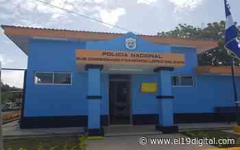 Así luce la nueva estación policial en Salinas de Nahualapa, Tola - El 19 Digital