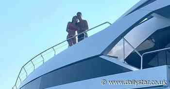 Cristiano Ronaldo flaunts huge yacht as he enjoys holiday with partner Georgina Rodriguez - Daily Star