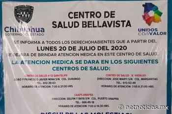 Dejará de funcionar Centro de Salud Bellavista - Juárez - Netnoticias