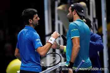 """Matteo Berrettini: """"Novak Djokovic hat immer gut und im Interesse aller gearbeitet"""" - Tennis World DE"""