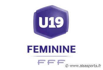 U19 : Strasbourg et Vendenheim avec Lyon - Alsa'Sports
