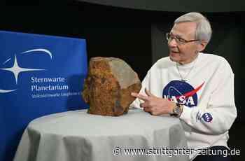 Planetarium Laupheim - Deutschlands größter Steinmeteorit vorgestellt - Stuttgarter Zeitung