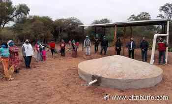 Inauguraron la primera cosecha de agua en la comunidad de El Arenal - El Tribuno.com.ar