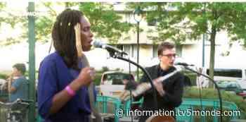 """La ville de Gennevilliers """"déconfine"""" la musique avec des concerts gratuits en plein air - TV5MONDE Info"""