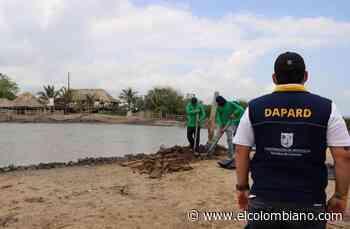 Dapard atiende emergencia del volcán de lodo de Arboletes y crecientes de ríos en Urabá - El Colombiano