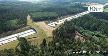 Bei Bad Bramstedt - Grünbrücke über A7 noch Stückwerk - Kieler Nachrichten