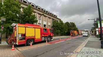 Hautmont: incendie à l'ancien hôpital, jeudi soir - La Voix du Nord