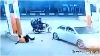 Video Captures Moment Armed Robbers Attack Petrol Station In Akure - Latest News in Nigeria & Breaking Naija News 24/7 | LEGIT.NG
