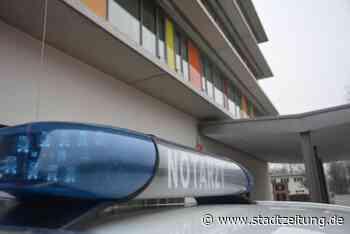 Frau erleidet Schock nach Unfall in Bobingen - StadtZeitung
