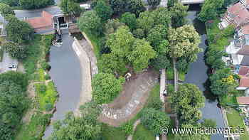 Fischtreppe in der Ems in Telgte geflutet - Radio WAF