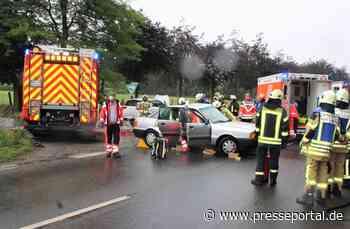 POL-VIE: Kempen: Mehrere Verletzte bei Verkehrsunfall auf der K 11 - Presseportal.de