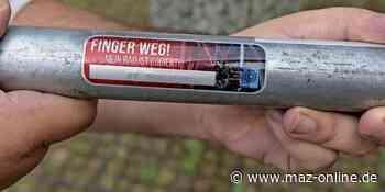 Falkensee: Polizei bietet Fahrradcodierung an - Märkische Allgemeine Zeitung