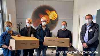 Schutzmasken von Warsteiner Firma Jungeblodt gespendet - soester-anzeiger.de