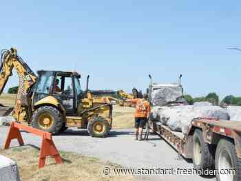 Barriers installed at Morrisburg beach to address crowd-control issues - Standard Freeholder