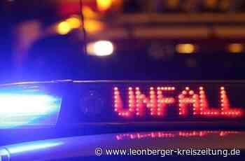 Unfall auf der B 295 bei Renningen: Mercedes gerät ins Schleudern - Renningen - Leonberger Kreiszeitung