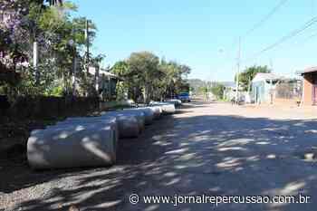 Rua Alagoas, em Nova Hartz, recebe obras de drenagem - Jornal Repercussão