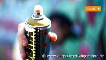 Jugendliche Sprayer sollen in Kissing Graffiti entfernen - Augsburger Allgemeine
