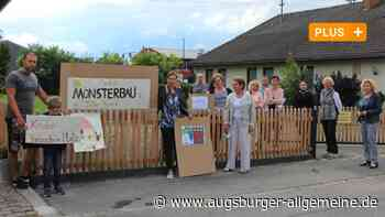 Ärger um Wohnanlage: Nachbarn wehren sich gegen Sozialbau in Kissing - Augsburger Allgemeine