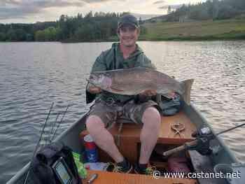 West Kelowna man pulls massive rainbow trout from lake - West Kelowna News - Castanet.net