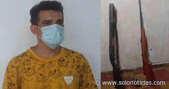 Capturado con armas largas en Guatajiagua, Morazán - Solo Noticias