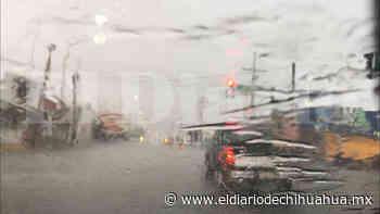 Llegan lluvias y granizo a Ciudad Delicias - El Diario de Chihuahua