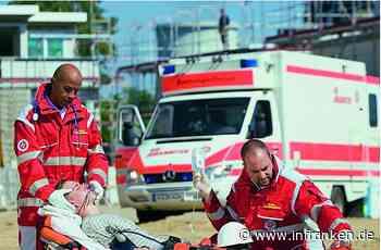 Rimpar: Kran kippt um - 40-jähriger Bauarbeiter schwer verletzt