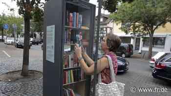 Maintal: Neuer Bücherschrank auf Käthe-Jonas-Platz - fr.de