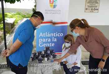 Noguera entrega oxímetros en Palmar de Varela y Candelaria a adultos con Covid-19 - El Heraldo (Colombia)