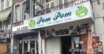 Le cambrioleur se blesse en brisant la vitre de la libraire Pom Pom à Verviers et laisse des traces de sang partout - Sudinfo.be