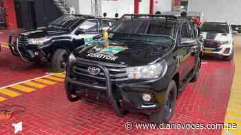 Municipalidad de Soritor adquiere dos camionetas para seguridad ciudadana - Diario Voces