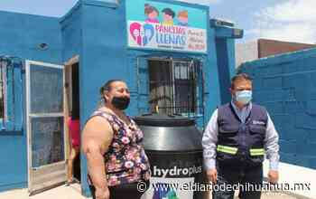 Dona la JMAS un tinaco al comedor Pancita Llena - El Diario de Chihuahua
