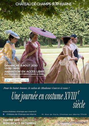 Une journée en costume XVIIIème siècle Château de Champs-sur-Marne dimanche 9 août 2020 - Unidivers