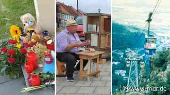 Bilder der Woche: Trauer in Querfurt, Wunder von Arendsee und Jubiläum in Thale - MDR