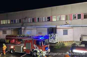 Brand in Neuhausen auf den Fildern - Flüchtlingsunterkunft wegen brennender Matratze evakuiert - Stuttgarter Nachrichten