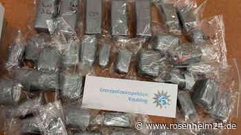 Bad Feilnbach: Bei Kontrolle auf A8: Polizei stellt 20 Kilogramm Haschisch sicher - rosenheim24.de