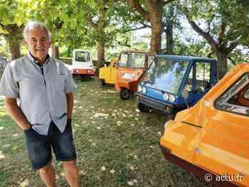 Jura. Cycle-car, micro-voiture, bubble-car : à Lons-le-Saunier, Denis collectionne de drôles de voitures - Voix du Jura
