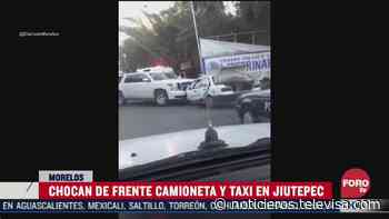 Accidente vial en Jiutepec, Morelos - Noticieros Televisa
