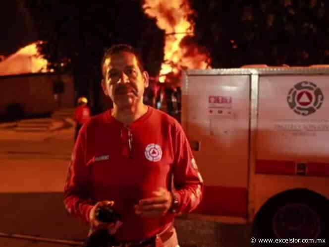 Controlan incendio de fábrica en Jiutepec, Morelos - Excélsior