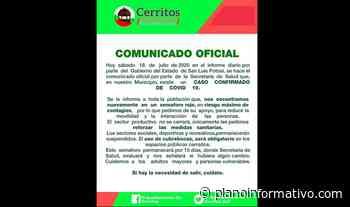 Confirman primer caso de Covid en Cerritos - Plano informativo
