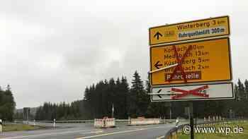 Medebach wieder ohne Umwege erreichbar - Westfalenpost