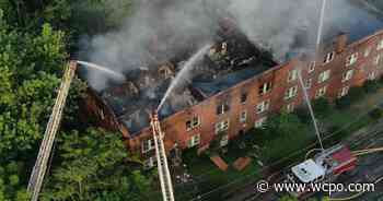 Three-alarm fire rips through building in Walnut Hills Tuesday morning - WCPO
