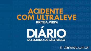 Ultraleve cai próximo do Aeroclube de Biritiba Mirim com vítima fatal - Diário do Estado de São Paulo - Diário do Estado de S. Paulo