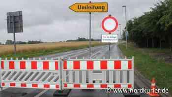 Straßen in Templin wegen Dreharbeiten gesperrt - Nordkurier