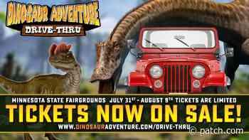 Dinosaur Adventure Drive-Thru MN State Fair Grounds - Patch.com
